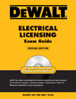 DEWALT Electrical Licensing Exam Guide Book NEC 2008 **