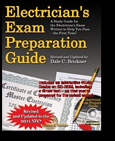2011 Electricians Exam Preparation Guide Book w/CDROM