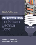 Interpreting The National Electrical Code NEC Book, 9th Edition