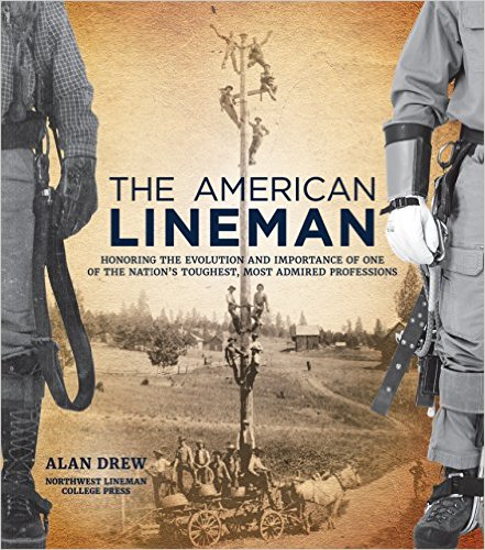 tnt  the american lineman hardcover book