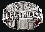 Electricians Load Center  Belt Buckle Electrician Gift