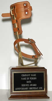 Lineman Climbing Hook Award - THE GOLDEN GAFF TROPHY
