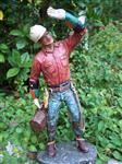 The Lineman Statue Handpainted By Michael Garman