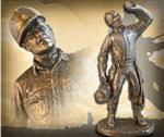 The Lineman Statue - Bronzetone or Handpainted