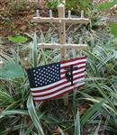 Lineman Memorial Markers - Treated Wood Utility Poles