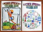 Lineman & Electrical Trades Coloring Books