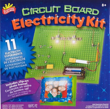 Mini Lab Electricity Kit for Children - Scientific Explorer