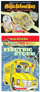 Magic School Bus Books - Teach Children About Electricity