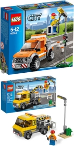 Lego Construction Kit or Lego Lineman Street Light Repairman Kit