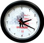 Patriotic Transmission Lineman Wall Clock - Gift