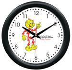 Reddy Kilowatt Wall Clock - Electrician Decor Electric Cooperative