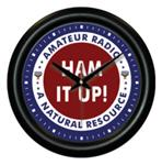 Ham It Up! Amateur Radio Wall Clock