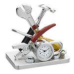 Electrician Handyman Miniature Novelty TOOLS Gift Clock