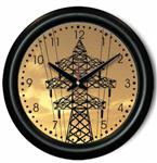 Transmission Tower Wall Clock - Transmission Lineman Gift