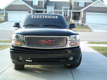 TNT Electrician Windshield Decal For Trucks - Truck windshield decals