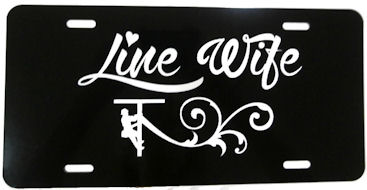 Linewife Metal License Plates