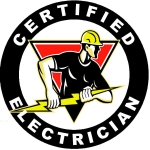 ELECTRICIAN Decals & Stickers