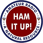 Amateur Radio Operator Decal - Ham It Up!