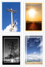10-Pack Blank or Custom Note Cards for Electrical Occupations