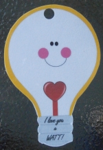 Gift Tag for Electrical Themed Gifts - Laminated - Several Choices