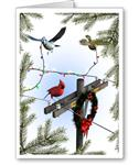 Celebrate the Season Lineman/Electrician Christmas Cards