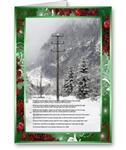 The Lineman Holiday Greeting Cards-Paul Harvey Quote
