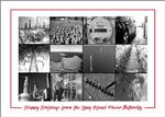 Holiday Greetings Electric Utility Energy Contractor Christmas Cards
