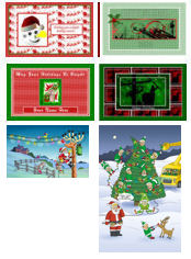 Christmas Cards for Electrician, Lineman, Engineer