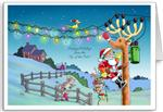Christmas Cards for Electrician, Lineman, Engineer, Customers