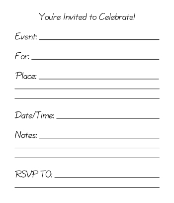 electrician party invitations