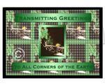 Transmitting Greetings Amateur Radio Christmas Greeting Cards