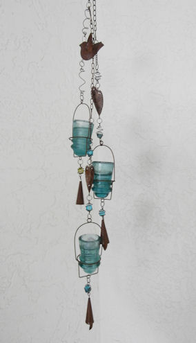 Hemingray Insulator #9 Votive Gift Hanging Art CHOICES