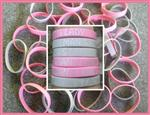 TWO Linemans Lady Rubber Wrist Bands - SUPER SALE!