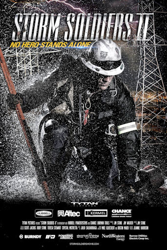 Storm Soldiers II DVD: Lineman Movie STOCKING STUFFER!