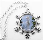 Necklace or Ornament: Telecommunications Tower Wife