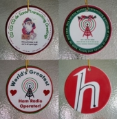 Ham Radio Operator Christmas Ornaments - YOUR CHOICE