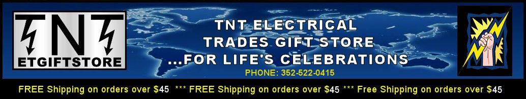 TNT Electrical Trades Gift Store Home