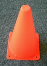 10 Inch Orange Construction Cones for your next party!