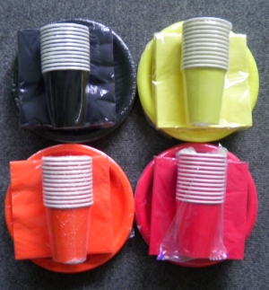 Party Napkins/Plates/Cups $2.50 Pack
