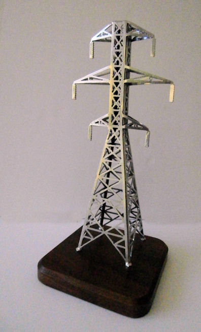 tnt  12  18 or 24 inch scale steel transmission tower gift