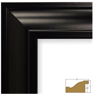 Your black frame will look like this.