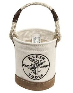 Tnt Klein Tools Mini Bucket Bag With Reinforced Leather