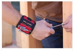 MagnoGrip Magnetic Wrist Band for Gift Electricians & Contractors