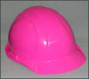 ANSI Compliant Pink Hard Hat for Parties or whatever!