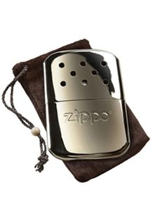 ZIPPO Chrome Hand Warmer - FREE REPLACEMENT BURNER