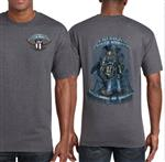 SZ MEDIUM ONLY - American Tower Climber Tshirts - Backbone of America