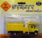 Boley Tree Trimmer/Bucket Truck Yellow