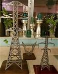"12 Inch or 24""  Plasma Cut Steel Transmission Tower Gift Award"