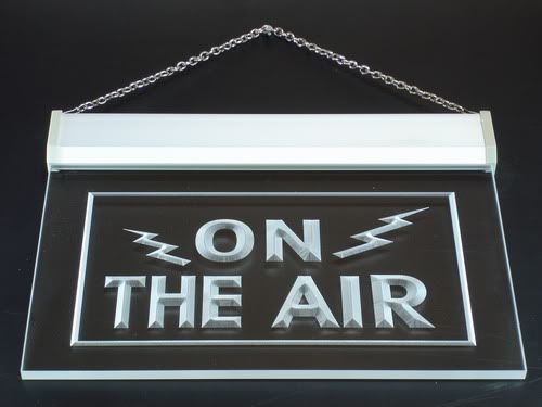 Our ham radio / amateur radio neon style signs are really cool! Plug one in today to let others know at a glance that you are ON THE AIR!