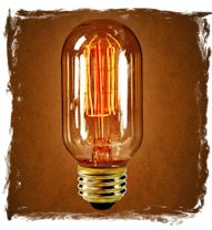 Radio style light bulbs are perfect for anyone in the electrical trades or even amateur radio operators!